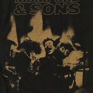 Mumford and Sons band tee size small